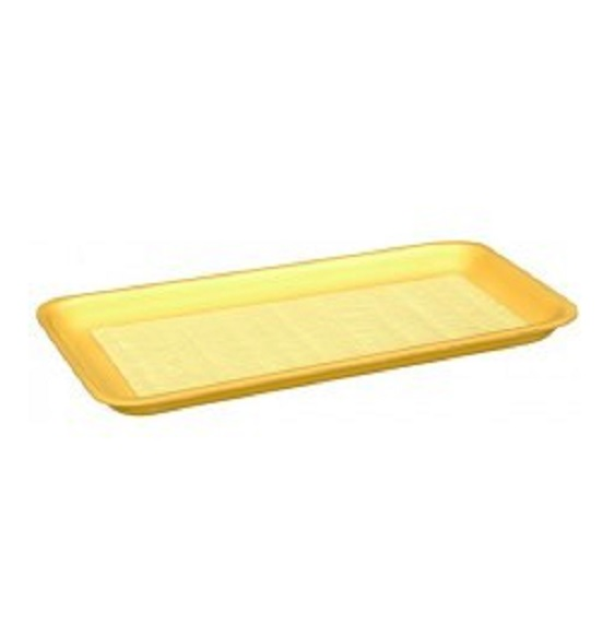 100-Piece Bundle CKF 4SB #4S Black Foam Meat Trays