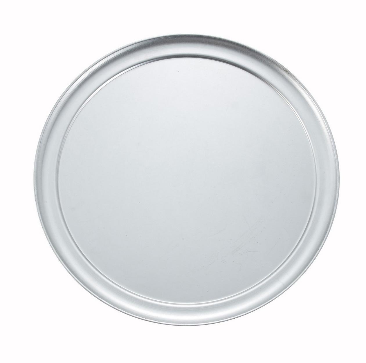 Winco APZT-16 16-Inch Wide-Rimmed Aluminum Pizza Pan