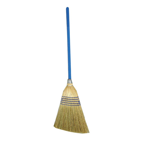 Winco BRM-55, 55-Inch Natural Corn Upright Broom with Metal