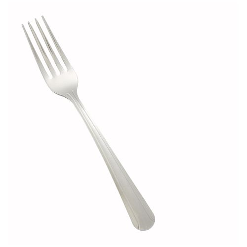 Winco 0001-05, Dominion Medium Weight Dinner Fork, 18/0 Stainless Steel, Vibro Finish, 12/Pack