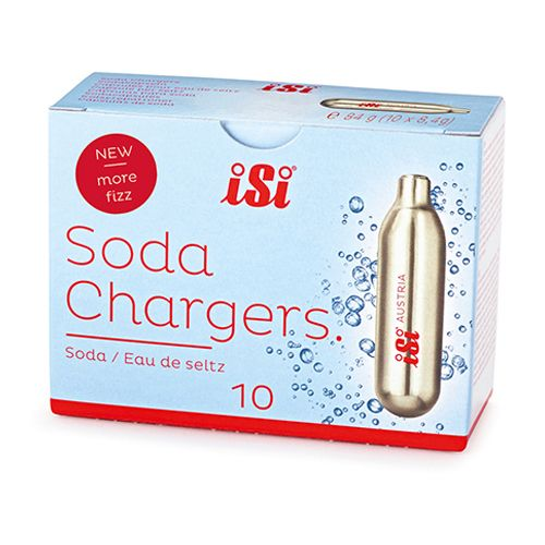 iSi 0017 Professional CO2 Soda Charger, PK