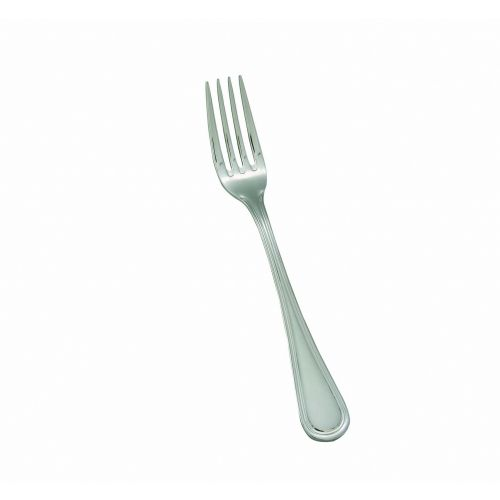 Winco 0030-05, Shangarila Extra Heavyweight Dinner Fork, 18/8 Stainless Steel, Mirror Finish, 12/Pack