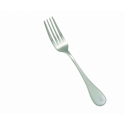 Winco 0037-05, Venice Extra Heavyweight Dinner Fork, 18/8 Stainless Steel, Mirror Finish, 12/Pack