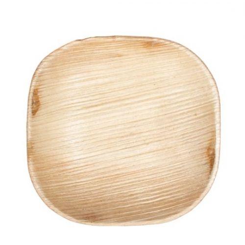 VerTerra 01-00-13B-X 6-inch Eco-Friendly Square Palm Leaf Bowl, 25/PK