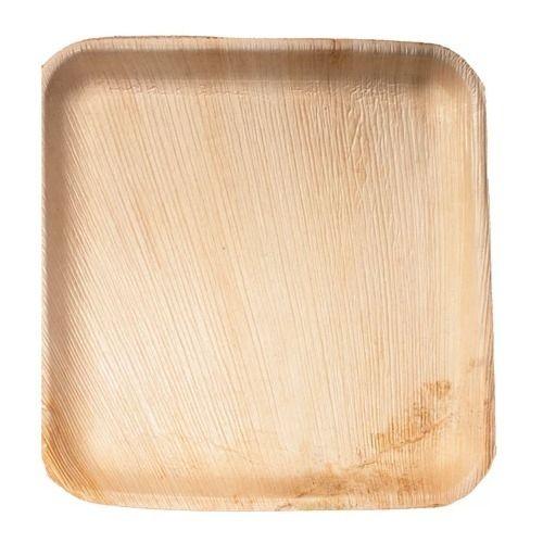 VerTerra 01-00-16B 7-inch Eco-Friendly Square Palm Leaf Plate, 300/CS