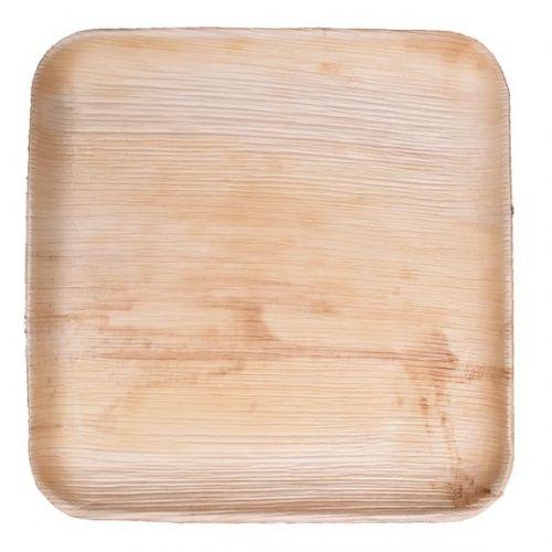 VerTerra 01-20-25B 9-inch Eco-Friendly Square Palm Leaf Plate, 300/CS