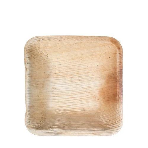 VerTerra 01-22-10B 4-inch Eco-Friendly Square Palm Leaf Plate, 600/CS
