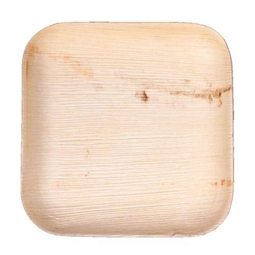 VerTerra 01-22-15B 6-inch Eco-Friendly Square Palm Leaf Plate, 300/CS