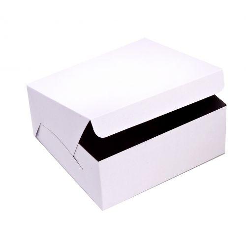 SafePro 10105C 10x10x5-Inch Cake Boxes, 100/CS
