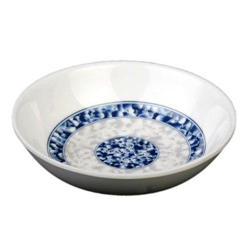 Thunder Group 1101DL 1 Oz 2 3/4 Inch Diameter Asian Blue Dragon Melamine Sauce Dish, DZ