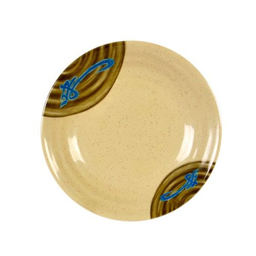 Thunder Group 1365J 6 1/2 Inch Asian Wei Melamine Round Soup Plate, DZ
