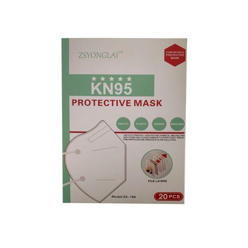 KN95 4-Layer Face Mask, 20/PK, FMASK/KN95/20
