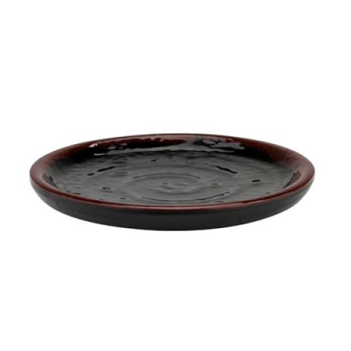 Thunder Group 1704TM 4 Inch Asian Tenmoku Round Melamine Dish, DZ