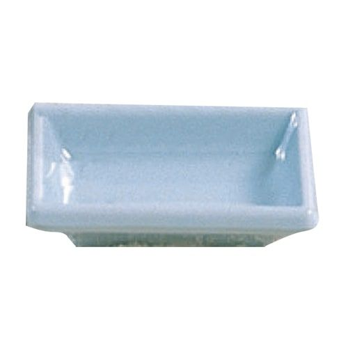 Thunder Group 1901 2 Oz 3 3/4 x 2 1/2 Inch Asian Blue Jade Melamine Rectangular Sauce Dish, DZ