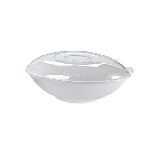 PacknWood 210BCHICL1501, 6.2-inch Dia Clear Recyclable Lid for 210BCHIC1500 Bowl, 100/СS