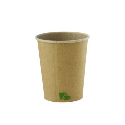 PacknWood 210GCZEN4, 4OZ, Zen Kraft Recyclable Paper Cups, 1000/CS