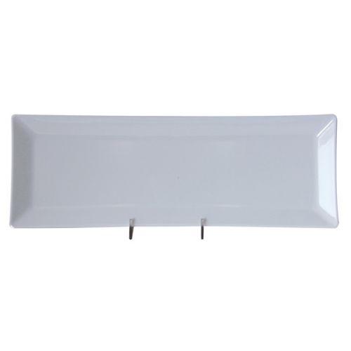 Thunder Group 29115WT 15 x 5 1/4 Inch Western Classic White Melamine Rectangular Plate, DZ