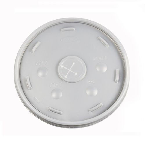 Dart 32SL Translucent Straw Slot Plastic Cup Lid, 500/CS