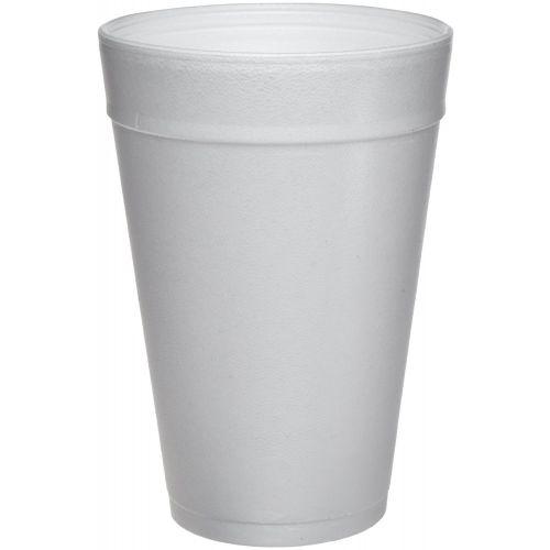Dart 32TJ32 32 Oz White  Insulated Foam Cup, 500/CS