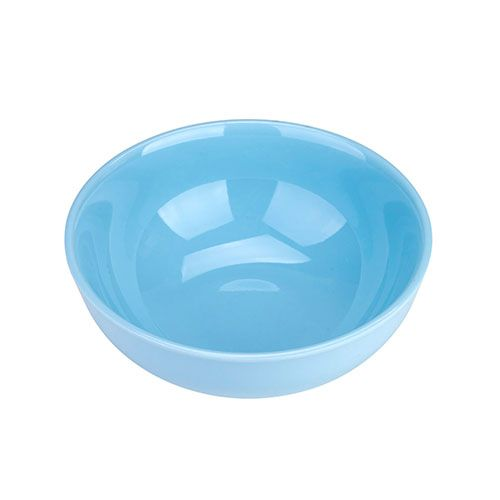 Thunder Group 3904 8 Oz 4 1/2 Inch Diameter Asian Blue Jade Melamine Bowl, DZ