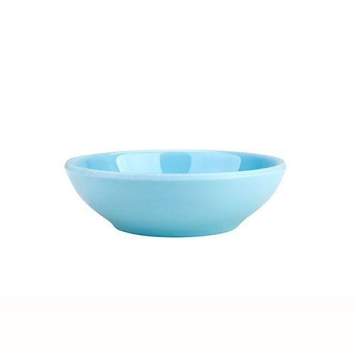 Thunder Group 3935 3 Oz 3 3/4 Inch Diameter Asian Blue Jade Melamine Sauce Dish, DZ