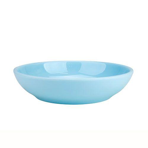 Thunder Group 3955 9 Oz 5 1/2 Inch Diameter Asian Blue Jade Melamine Bowl, DZ