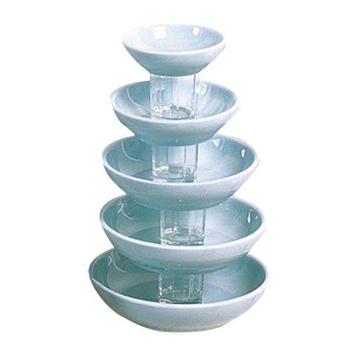 Thunder Group 3960 12 Oz 6 Inch Diameter Asian Blue Jade Melamine Bowl, DZ