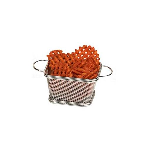 Clipper Mill Stainless Steel  Fry Serving Basket w/ 2 Handles