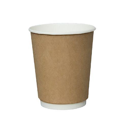 SafePro DWK-16, 16-Ounce Double Wall Hot Cups, Kraft, 360/CS