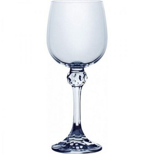 Crystalex B40428-230, 8-Ounce Julia Wine Glass, 6PC/Set