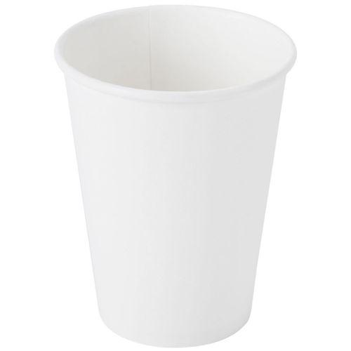 SafePro 412W, 12 Oz White Hot Paper Cups, 1000/Cs