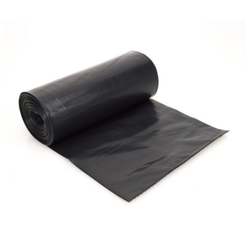 SafePro 48TB 23x11x48-Inch, 2 mm Black Heavy Duty Trash Bags, 95/CS