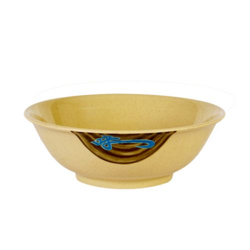 Thunder Group 5085J 70 Oz 9 3/4 Inch Asian Wei Melamine Round Rimless Bowl, DZ