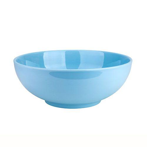 Thunder Group 5990 74 Oz 9 1/4 Inch Diameter Asian Blue Jade Melamine Soup Bowl, DZ