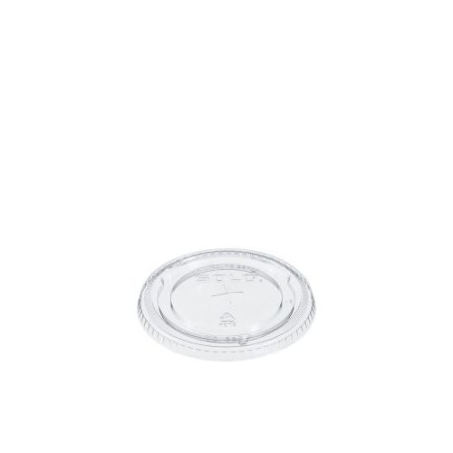Dart 626TS Clear Straw Slotted Plastic Cup Lid, 1000/CS