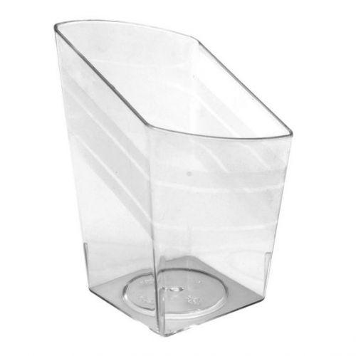 Fineline Settings 6407-CL, 2.25x3-Inch Clear Plastic Tiny Trifles, 200/CS