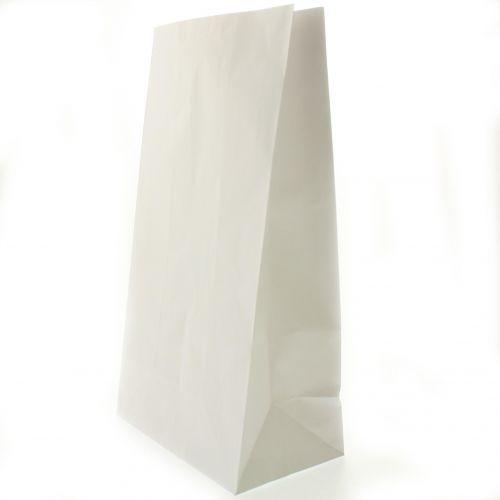 Novolex 6WBP, #6 White Paper Bag, 500/PK
