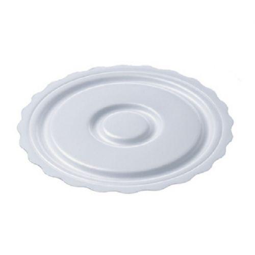 SafePro 7CCF 7-Inch White Round Foam Pads, 1000/CS
