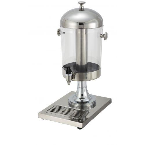 Winco 902, 7.5-Quart Stainless Steel Juice Dispenser