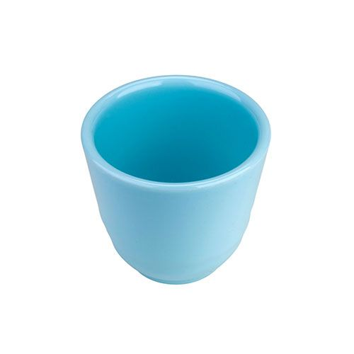 Thunder Group 9154 8 Oz 3 1/8 Inch Diameter Asian Blue Jade Melamine Tea Cup, DZ