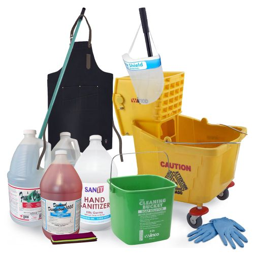 Foodservice Cleaning / Disinfecting Package (135 Items)