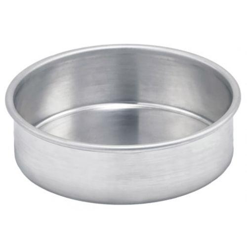 Winco ACP-042 4-Inch Dia x 2-Inch H Aluminum Layer Cake Pan, EA