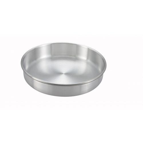 Winco ACP-082, 8x2-Inch Aluminum Layer Cake Pan