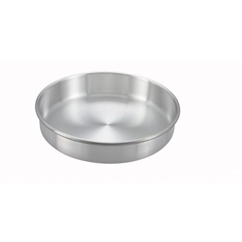 Winco ACP-103, 10x3-Inch Aluminum Layer Cake Pan