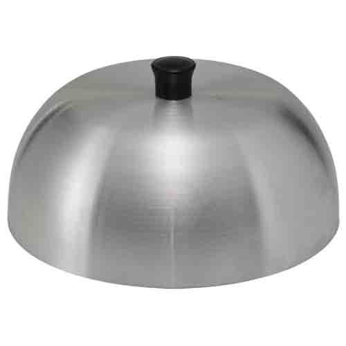 Winco AHC-6, 6-Inch Aluminum Hamburger Cover