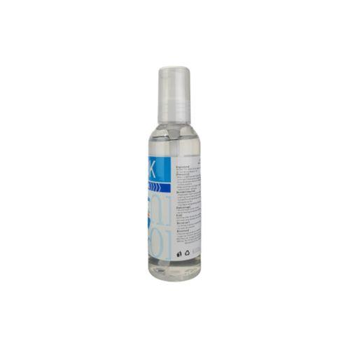 Akok AK34PB 3.4 Oz Gel Hand Sanitizer Bottle w/Pump, 75% Alcohol, 100/CS