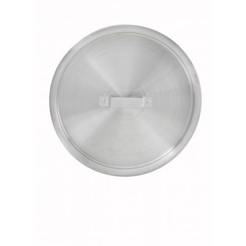 Winco ALPC-32, Aluminum Stock Pot Cover for 32-Quart and 15-Quart Pots, Braziers