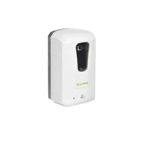 Set: One Automatic Liquid/Gel Sanitizer Dispenser and Four 1-Gallon Gel Hand Sanitizers 70% Isopropyl Alcohol