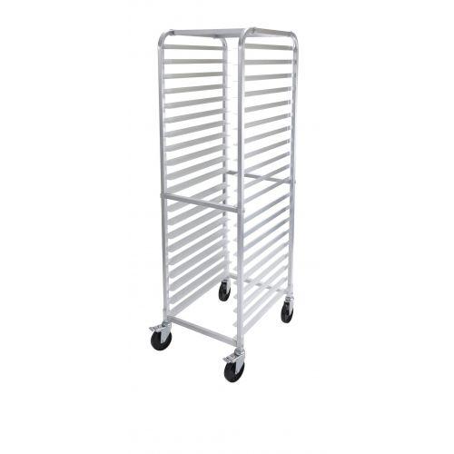 Winco ALRK-20, Heavy Duty 20-Tier Rack For Aluminum Sheet Pans, NSF