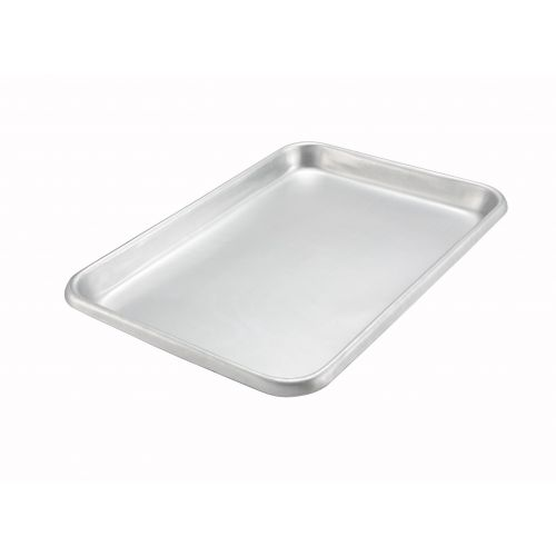 Winco ALRP-1826, 17.75x25.75-Inch 14 Gauge Aluminum Bake-Roast Pan without Handles